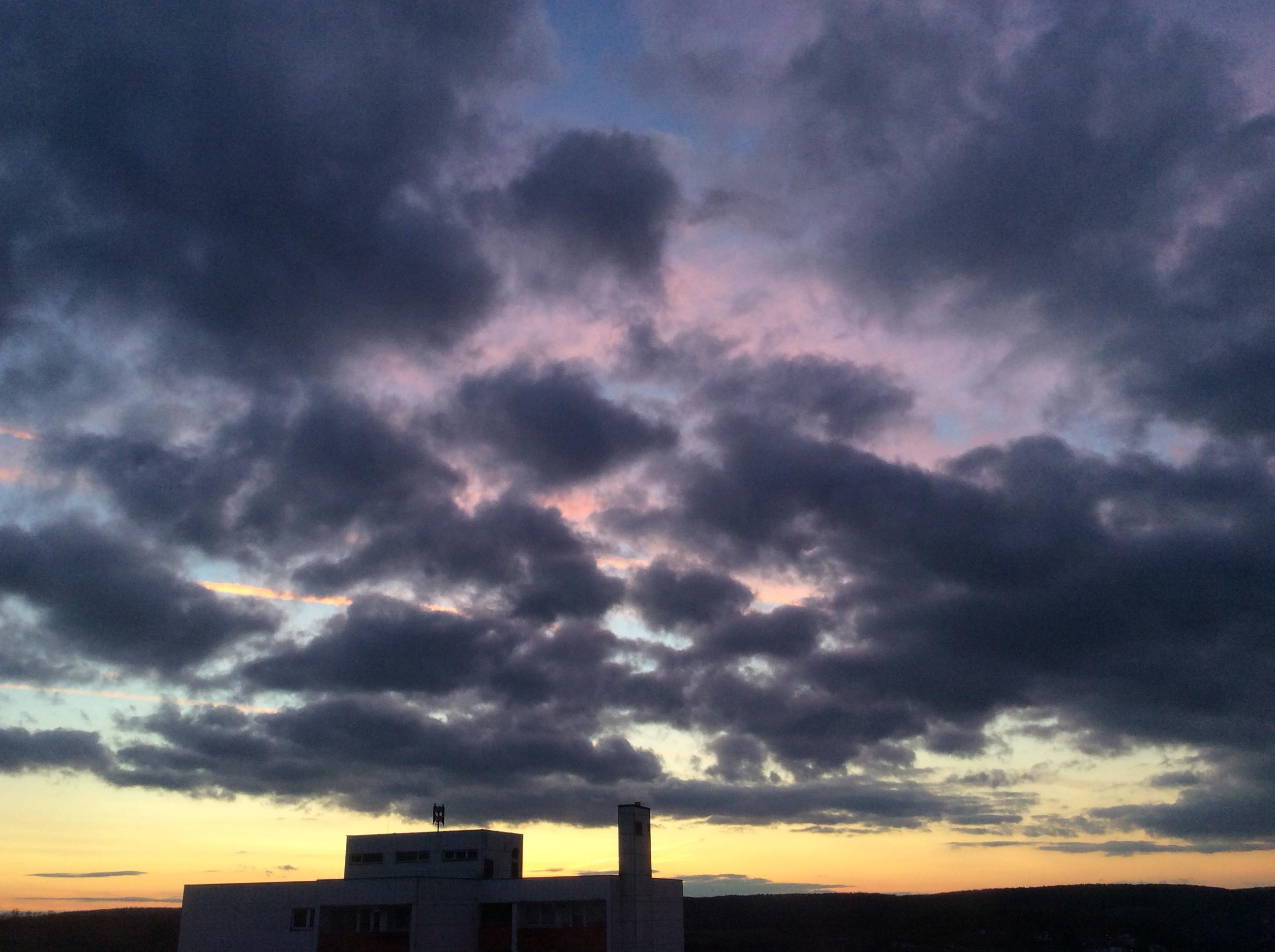 Regensburger Sonnenuntergang