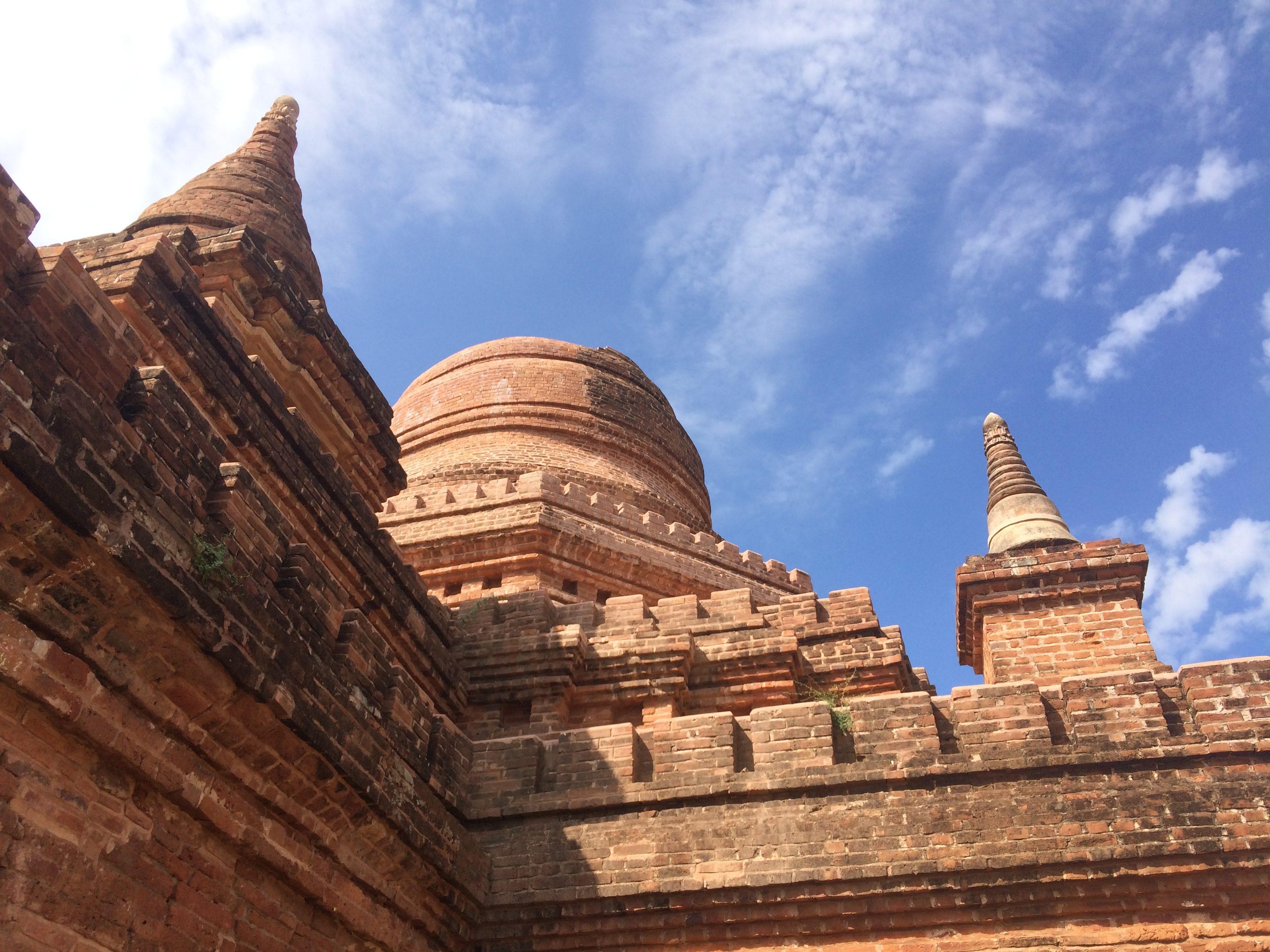 Ein Tempel Bagans