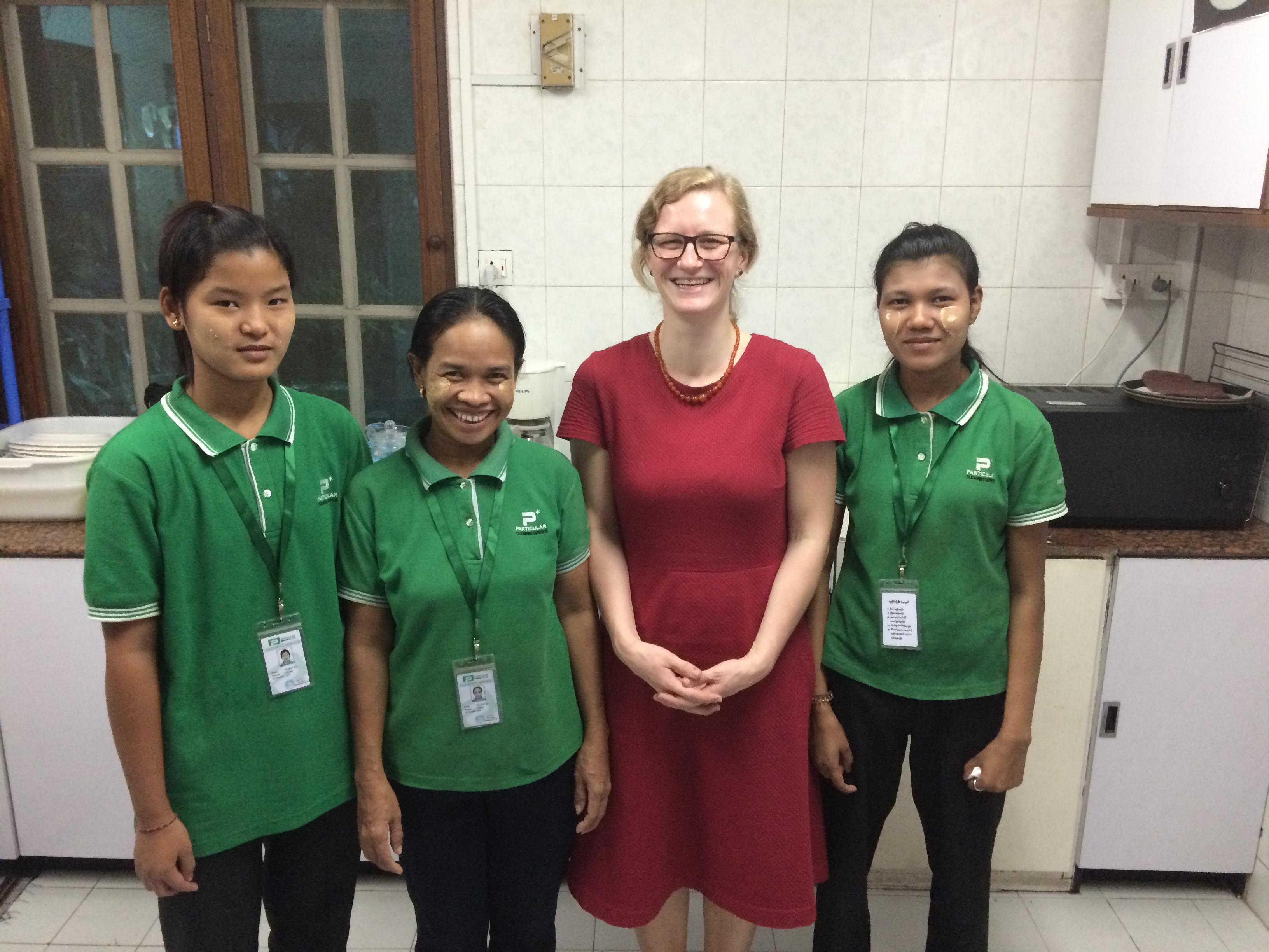 6 Monate in Yangon: Kämpfen